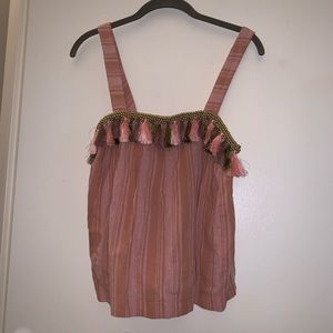 Honey Punch Tassel Tank